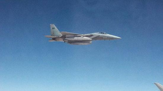 تصاویری از رویارویی هواپیمای ایرانی و جنگنده های سعودی