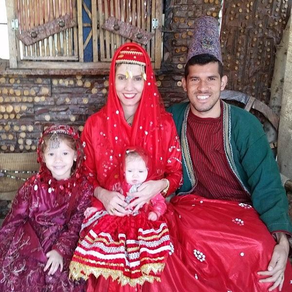 گابریل و خانواده اش