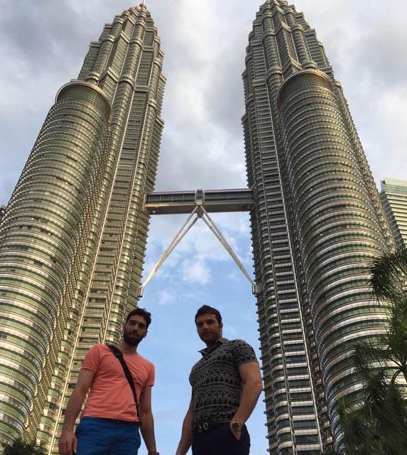 ستاره والیبال ایران در مالزی