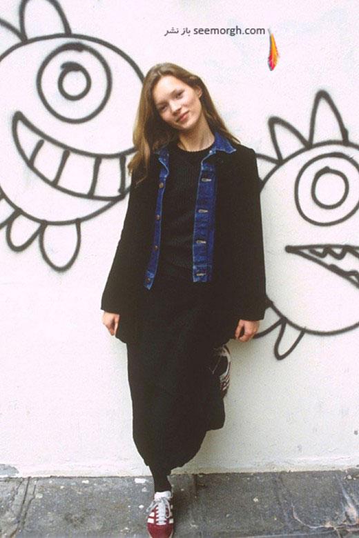 کودکی کیت ماس Kate Moss ، مدل انگلیسی