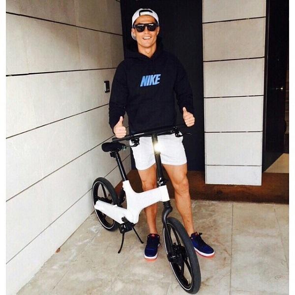 دوچرخه کریس رونالدو