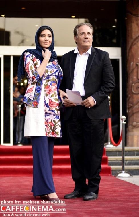 مجید مطفری و دخترش نیکی مطفری