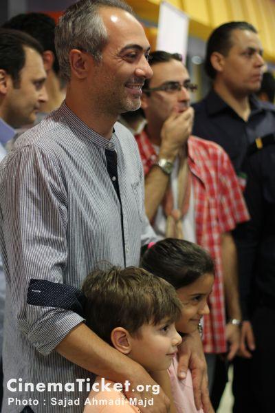 علی قربانزاده در اکران عمومی