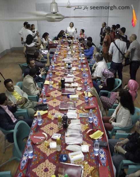 افطار مردمان مصر در ماه مبارک رمضان