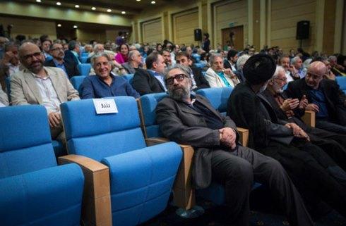 مسعود کیمیایی در ضیافت افطار حسن روحانی