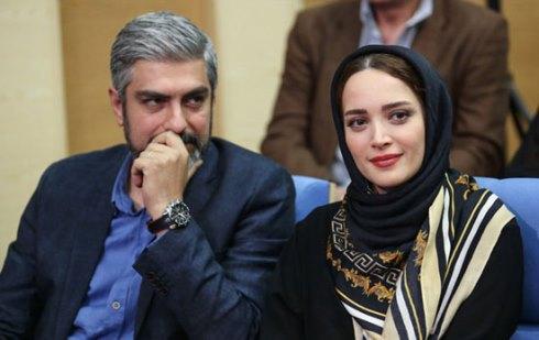 بهنوش طباطبایی و مهدی پاکدل در ضیافت افطار حسن روحانی