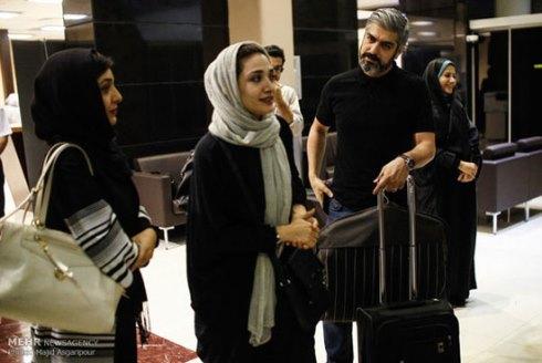 عوامل فیلم محمد رسول الله در فرودگاه