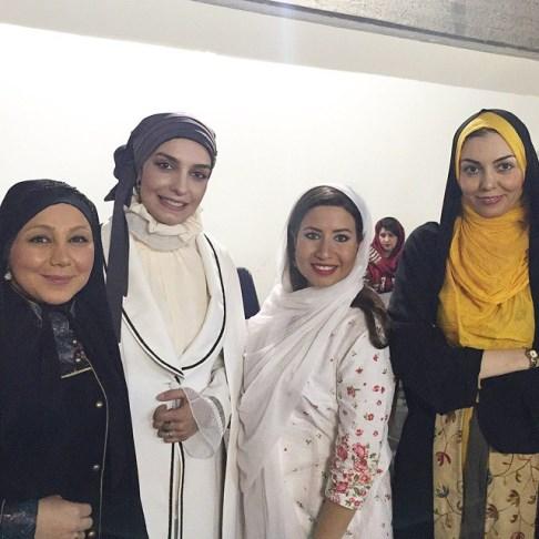آزاده نامداری در حاشیه جشن سینمایی حافظ
