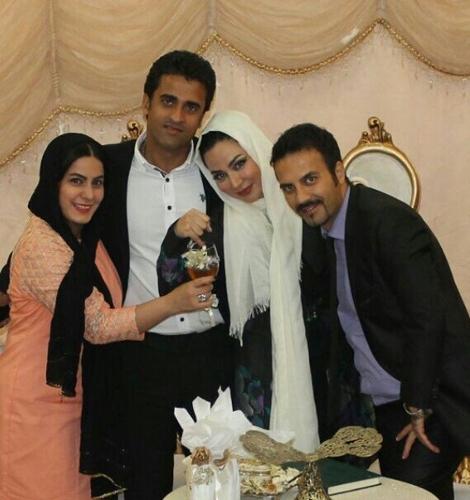 مراسم ازدواج فقیه سلطانی و همسرش