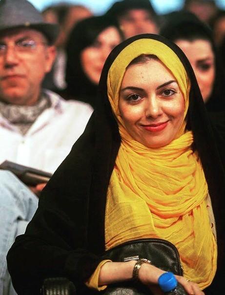 آزاده نامداری در مراسم جشن حافظ