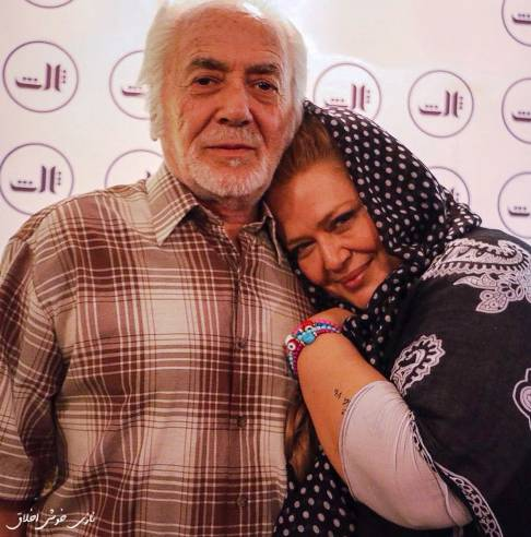 عکس بهاره رهنما در کنار پدرش