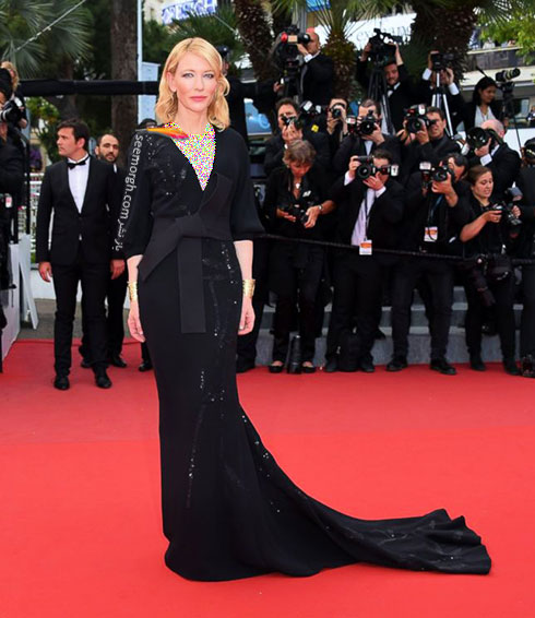 Cate Blanchett بهترین مدل لباس در جشنواره کن 2015