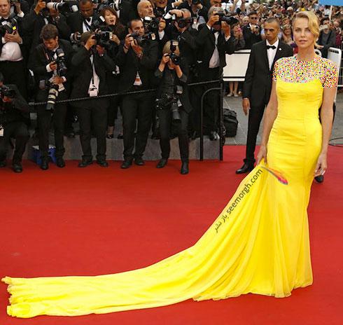Charlize Theron بهترین مدل لباس در جشنواره کن 2015