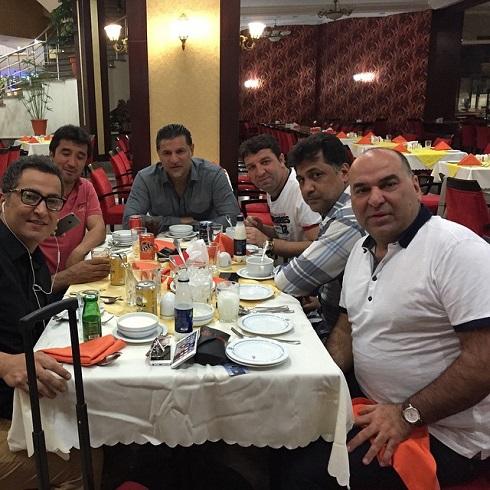 شام علی دایی و بزرگان فوتبال کشورمان