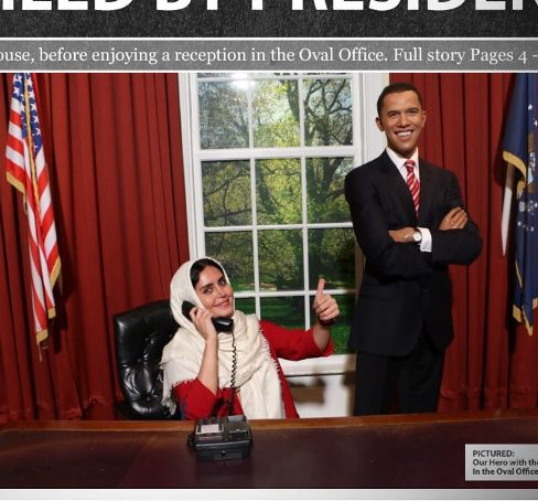 الناز شاکردوست و باراک اوباما