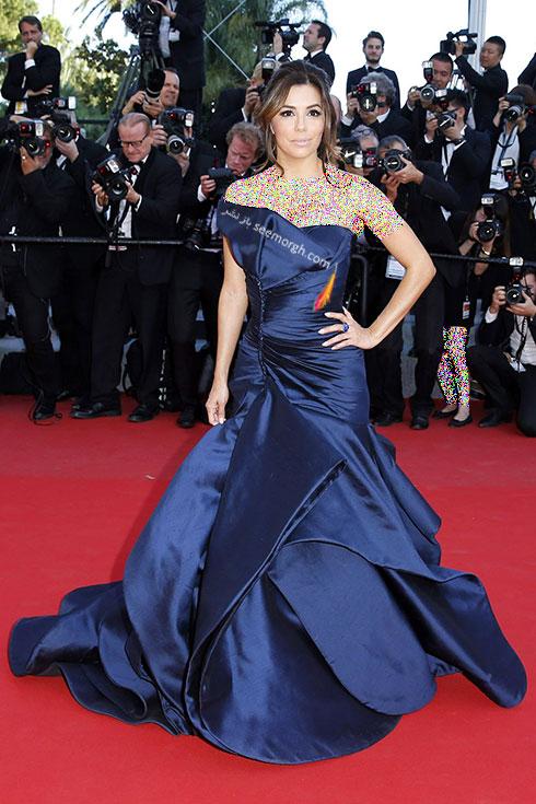 Eva Longoria بهترین مدل لباس درجشنواره کن 2015