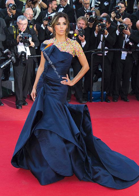 مدل لباس اوا لانجوریا Eva Longoria در جشنواره کن 2015