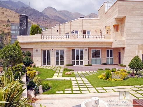 خانه ثروتمندان و میلیاردرهای تهرانی