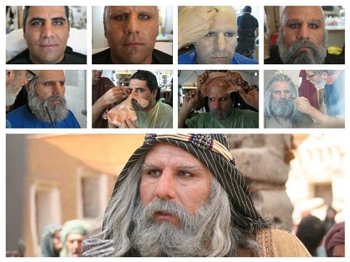 محمد عسگری در نقش ابولهب عموی پیامبر (ص)