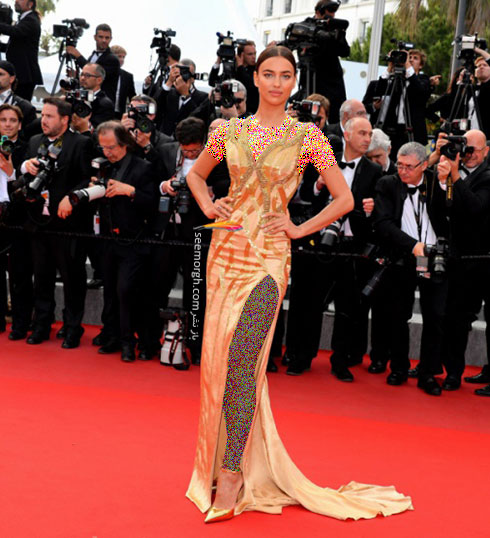 Irina Shayk بدترین لباس در جشنواره کن 2015