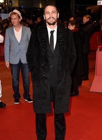 جیمز فرانکو James Franco روی فرش قرمز