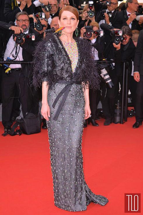 Julianne Moore بهترین مدل لباس در جشنواره کن 2015
