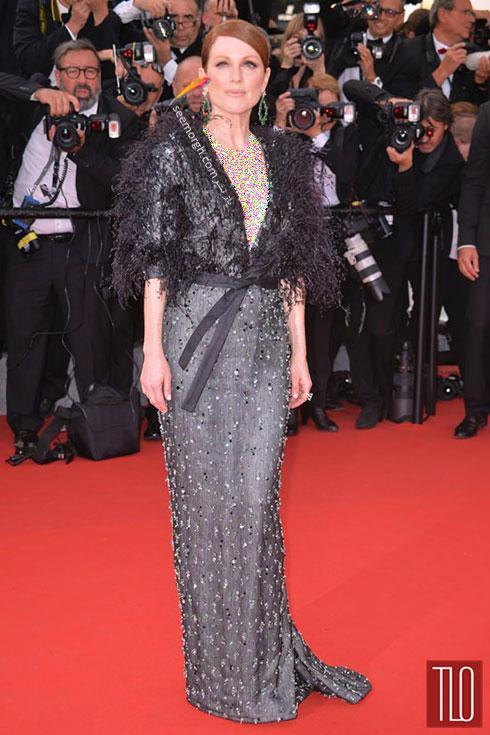 مدل لباس جولیانه مور Julianne Moore در جشنواره کن 2015