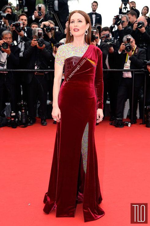 Julianne Moore بدترین لباس در جشنواره کن 2015