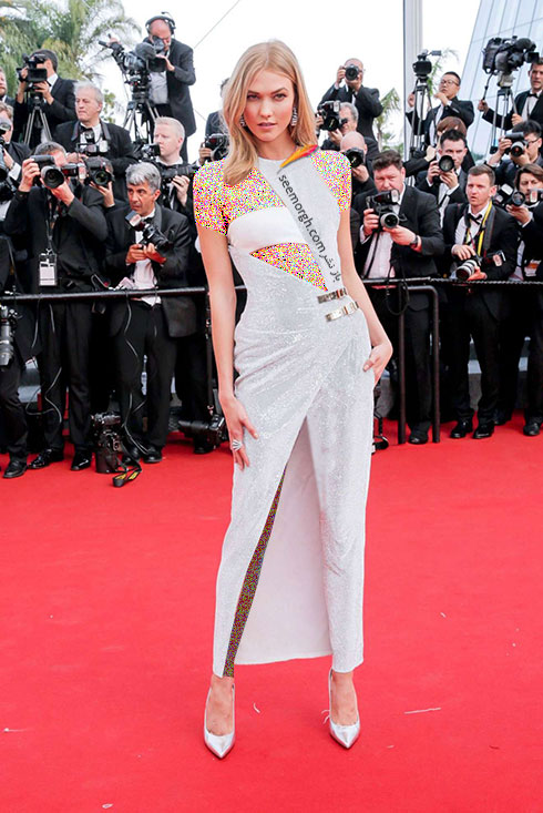 Karlie Kloss در جشنواره کن 2015