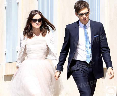 کایرا نایتلی و همسرش