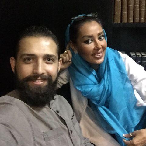 محسن افشانی و خانم دکتر