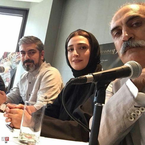 علیرضا شجاع نوری، مینا ساداتی و مهدی پاکدل در نشست خبری