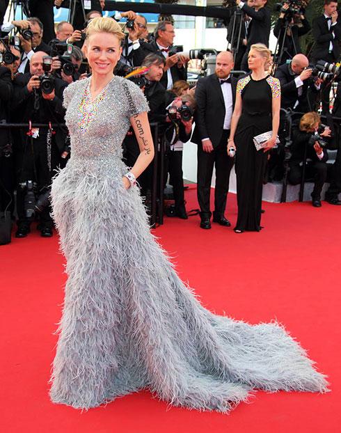 مدل لباس نائومی واتس Naomi Watts در جشنواره کن 2015