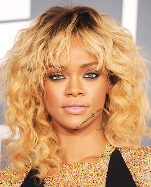 بهترین مدل مو برای موهای مجعد به پیشنهاد Rihanna