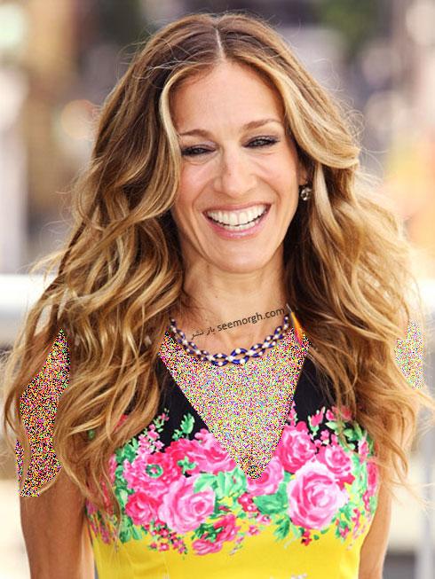 بهترین مدل مو برای موهای مجعد به پیشنهاد Sarah Jessica Parker