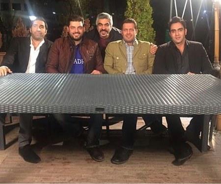 بیوگرافی هادی کاظمی بیوگرافی سام درخشانی بیوگرافی پوریا پورسرخ بازیگران شام ایرانی