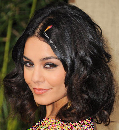 بهترین مدل مو برای مو مجعد به پیشنهاد Vanessa Hudgen