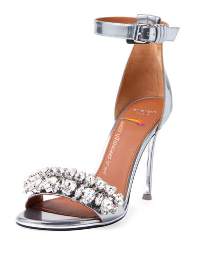 کفش عروس نگین دار از برند جیوانچی Givenchy برای تابستان 2015