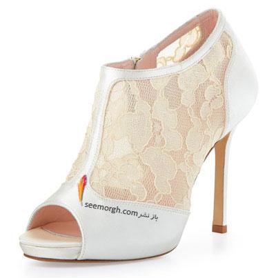 کفش عروس طرح دار از خانه مد آمریکایی kate spade new york برای تابستان 2015