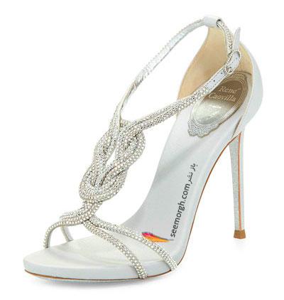 کفش عروس از طراح ایتالیایی Rene Caovilla برای تابستان 2015