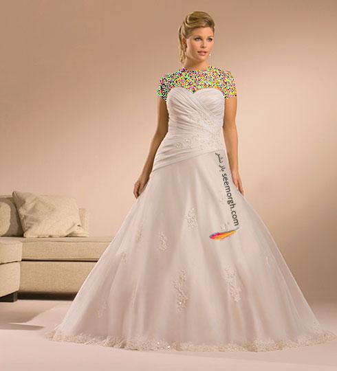 بهترین مدل لباس عروس برای عروس های سایز بزرگ به پیشنهاد سایت JDbridal