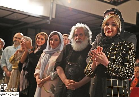 عکس نیوشا ضیغمی و همسرش در کنسرت علی زندوکیلی 2