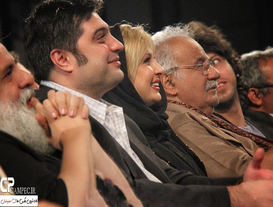 عکس نیوشا ضیغمی و همسرش در کنسرت علی زندوکیلی 4