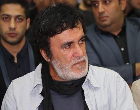 حبیب (خواننده لس آنجلسی) در مراسم ختم علی طباطبایی