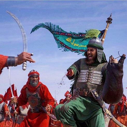 عکس حضرت عباس در سریال مختارنامه