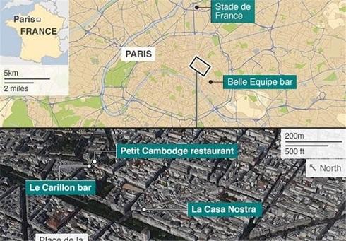 حادثه تروریستی در پاریس