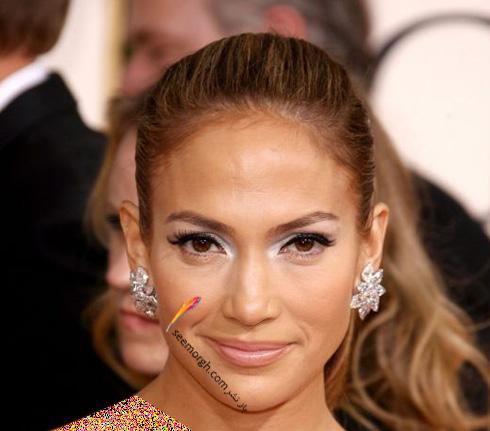 گوشواره طرح گل جنیفر لوپز Jennifer Lopez