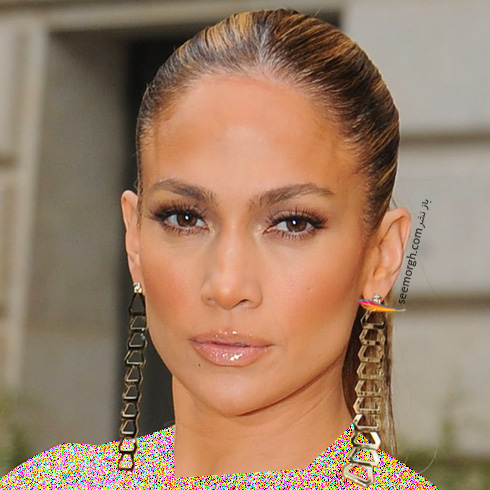 گوشواره زنچیری جنیفر لوپز Jennifer Lopez