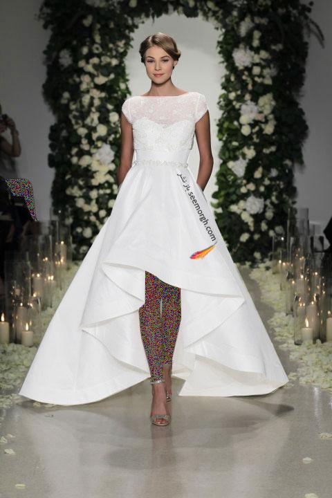 لباس عروس کوتاه در هفته مد لندن - مدل شماره 4