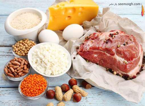 منافع مصرف مواد پروتئینی برای میانسالان